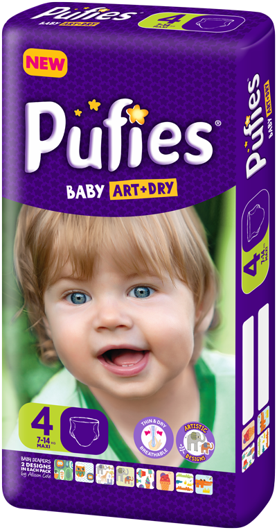 Pufies Package Size 4