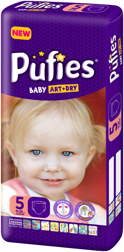 Pufies Package Size 5
